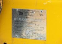 Заводская табличка экскаватора JCB JS220LC #Т 4999 КМ. Севастополь