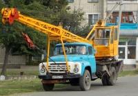 Автокран КС-2568 на шасси ЗИЛ-431412 # В 072 КТ 36. Белгородская область, г. Алексеевка, улица Пушкина