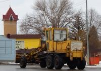 Автогрейдер ДЗ-143 # 1713 ЕС 31. Белгородская область, г. Алексеевка, улица Маяковского