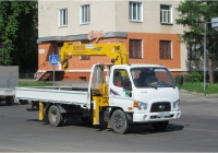 Автомобиль с гидроманипулятором Hyndai HD 78  #Р 260 КВ 124. Красноярский край, Железногорск, улица Ленина