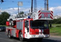 Пожарная автолестница Magirus M 32 L-LL (DLK  23-12 n.B. CS) на шасси Iveco 150E28HZL #В 591 МО 98. Санкт-Петербург, Северная площадь
