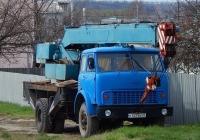 Автокран КС-3577 на шасси МАЗ-5334 # К 527 ЕК 31. Белгородская область, г. Алексеевка, улица Кирова