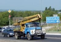 Автоподъёмник P-183H на шасси ЗиЛ-130Г #Н 200 ОС 31. Белгородская область, г. Алексеевка, улица Чапаева