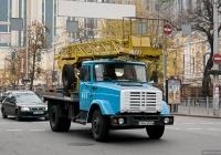 Автоподъёмник АП-18-07 на шасси ЗИЛ-433362  #044-57 КА с трехместной кабиной . Киев, Большая Васильковская улица