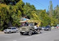 Автоподъёмник АП-17А  #3714 КРЛ на шасси ГАЗ-53-12. АР Крым, Ялта, Киевская улица