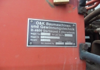 Заводская табличка экскаватора O&K MH2.8C #00242 СН. Севастополь