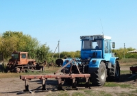 Трактор ХТЗ-17221 # 1060 КУ 46 с плугом ПЛН-5-35. Курская область, Тимский район, с. Соколье