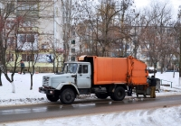 Мусоровоз на базе ЗиЛ-433362  #Т 130 ЕТ. Приднестровье, Тирасполь, улица Юности