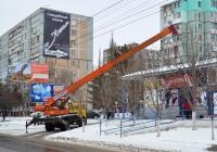Автокран КТА-14* на шасси МАЗ-5337 #Т 761 ВВ. Приднестровье, Тирасполь, улица Юности