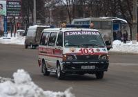 Автомобиль скорой медицинской помощи на базе Toyota HiAce  #ВМ 3635 АА. Сумы, ул. Харьковская