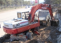 Экскаватор Poclain 90B #Т 5310 КМ. Севастополь