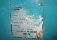 Заводская табличка экскаватора Samsung-Volvo SE240LC-3. Севастополь