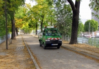 Минигрузовик Piaggio Porter, #931 PYZ 75. Франция, Париж