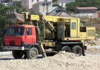 Экскаватор-планировщик UDS-114 на шасси Tatra 815 #АК 1706 АЕ. Севастополь