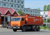 Мусоровоз КО-440-5 на шасси КамАЗ-65115 #М 731 МТ 31. Белгородская область, г. Алексеевка, улица Тимирязева