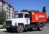 Мусоровоз КО-440-2 на шасси ГАЗ-3309 #Р 521 РА 31. Белгородская область, г. Алексеевка, улица Пушкина