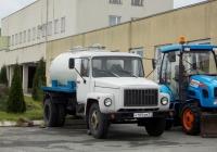 Автоцистерна на шасси ГАЗ-3309* #Н 109 АМ 31. Белгородская область, п. Чернянка, территория Чернянской ЦРБ