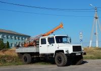 Бурильная установка БКМ-317 на шасси ГАЗ-3308 # С 138 ЕТ 750. Белгородская область, г. Бирюч, Ямская улица