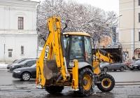 Экскаватор-погрузчик JCB 3CX #51343 АА. Киев, Контрактовая площадь