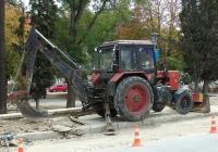 Экскаватор-бульдозер ЭО-2203 на базе трактора МТЗ-80.1 #03738 КН. Севастополь