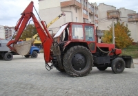 Экскаватор-бульдозер ЭО-2103 на базе трактора ЮМЗ-6*. Севастополь