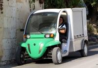 Грузовой электромобиль GEM eL XD. Франция, Эндр и Луара