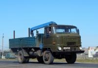 Автомобиль IFA L60 #Н 473 НО 31 с манипулятором. Белгородская область, г. Алексеевка, улица Чапаева