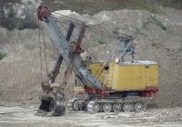 Экскаватор Э-2503В с оборудованием прямой лопаты. Крым, Бахчисарай