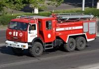 Пожарная автоцистерна АЦ-8-40-7 на шасси КамАЗ-43118  #A 966 HL. Алматы, улица Саина