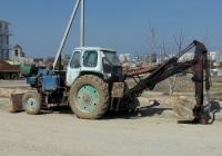 Экскаватор-бульдозер ЭО-2621А на базе трактора ЮМЗ-6* #00256 СН. Севастополь