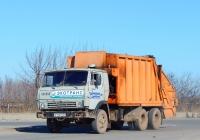 Мусоровоз КО-427-01 на шасси КамАЗ-53213 #Е 114 РМ 31. Белгородская область, г. Старый Оскол, Верхне-Атаманская улица