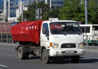 Мультилифт на шасси Hyundai HD78 #О 238 МО 777. Санкт-Петербург, улица Типанова