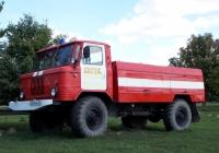 Автоцистерна АЦ-30(66)-184  на шасси ГАЗ-66-15 #М 519 ТМ 31. Белгородская область, Красненский район, с. Горки