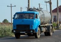 Ассенизационный автомобиль на шасси МАЗ-5334  #ВН 4163 ЕН. Одесская область, Затока, Лиманская улица