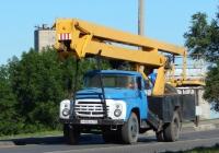 Автоподъёмник АГП-22 на шасси ЗиЛ-130* #Р 436 ХК 31. Белгородская область, г. Алексеевка, улица Тимирязева
