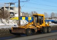 Автогрейдер ДЗ-122Б. Алтайский край, Барнаул, Власихинская улица