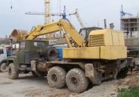 Экскаватор ЭОВ-4422 на шасси КрАЗ-260. Севастополь