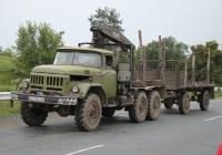 Автомобиль-лесовоз ЗиЛ-131 #СА 6486 АВ. Украина, Киевская область