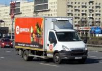 Фургон АФ-474250 на шасси Iveco Daily #Р 441 МК 750. Санкт-Петербург, площадь Победы