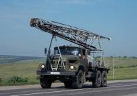 Бурильная установка УРБ-2,5А на шасси ЗиЛ-131Н # М 434 ЕО 31. Белгородская область, г. Алексеевка, Магистральная улица