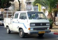 Грузовик  на базе Volkswagen Transporter T3 #24-810-58. Израиль, Хайфа