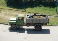 Мусоровоз КО-413 на шасси ГАЗ-53* переделанный в самосвал. Крым, Керчь