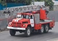 Пожарная автолестница АЛ-30(5313)-5СМИ на шасси АМУР-5313 #A 385 EV. Алматы, проспект Рыскулова
