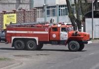 Пожарная автоцистерна АЦ-6-40 на шасси Урал-4320-40 #A 362 EV. Алматы, улица Бродского