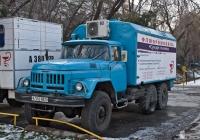 Флюоромобиль на шасси ЗиЛ-131Н #A 560 REO. Алматы, улица Кабдолова