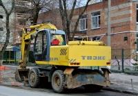 Экскаватор ЕК-14 #1681 ОЕ 61. Ростов-на-Дону, Халтуринский переулок
