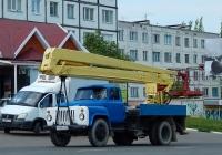 Автоподъёмник ВС-18-МС на шасси ГАЗ-53-12 #Н 906 СН 31. Белгородская область, г. Алексеевка, улица Тимирязева