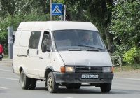 """Грузопасажирский фургон ГАЗ-27052 """"Газель"""" #Т 309 СО 54. Новосибирск, улица Одоевского"""
