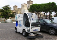 Машина уборочная Piquersa BA-360e. Италия, Сирмионе