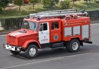 Пожарная автоцистерна АЦ-2,5-40(433362)-7ВР на шасси ЗиЛ-433362 #A 553 FO. Алматы, улица Саина